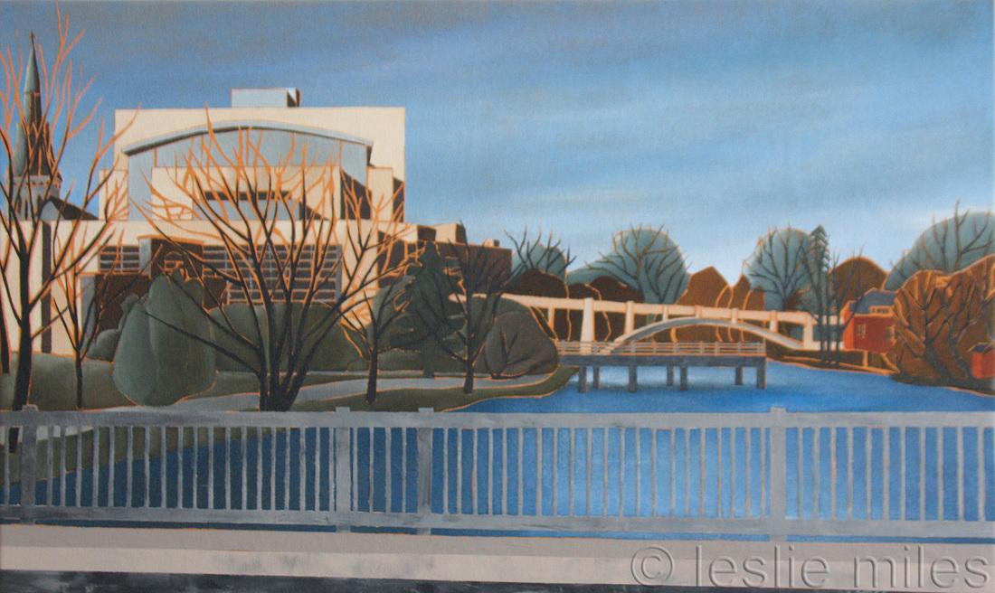 Miles, Sunlit River Run Centre
